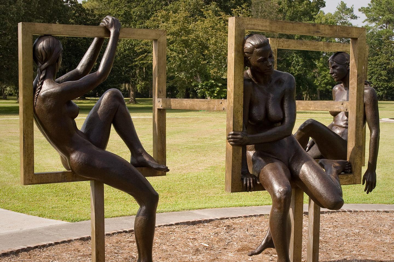 Brookgreen Garden Bronze Women