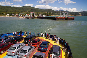 Ferry to Isle-aux-Coudres - TJG