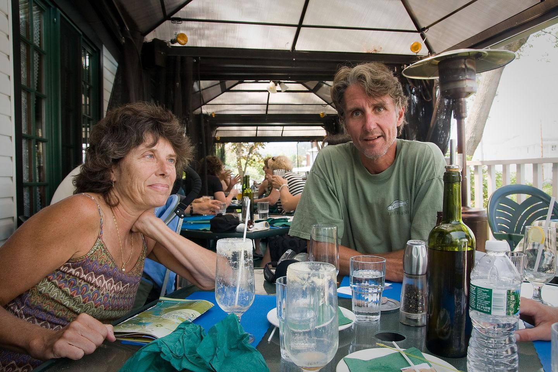 Mom and Dad at Café des Artistes - AJG