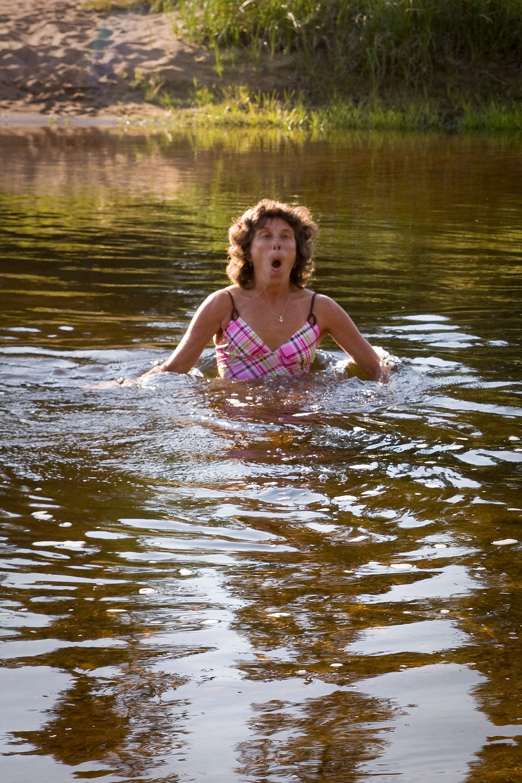 "Lolo creating ""Swim Activity"" - AJG"