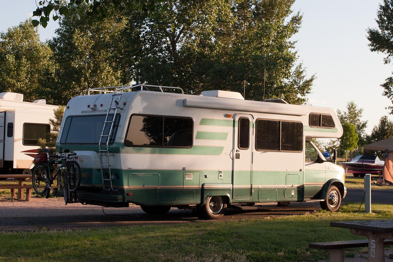 Boyd Lake camping