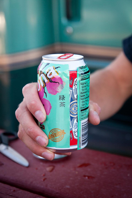"Budweiser in ""Green Tea"" sleeve - AJG"