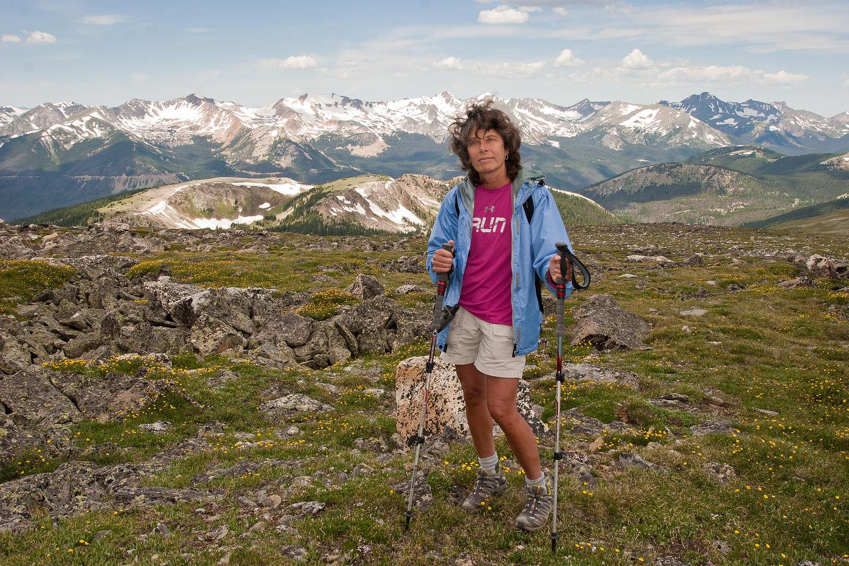 "Lolo the ""happy hiker"""