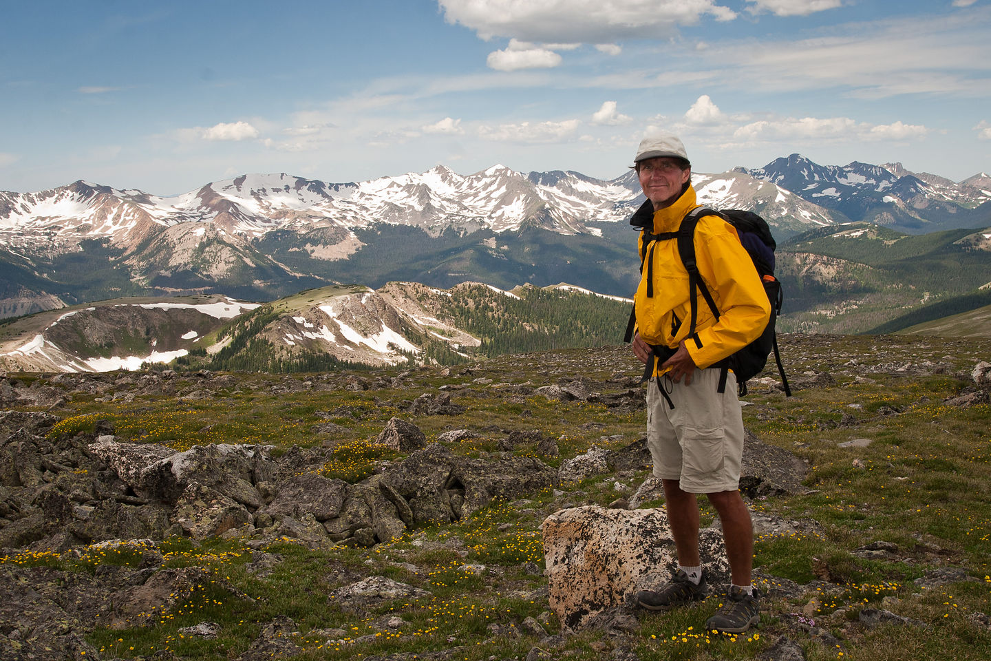 """Herb the """"happy hiker"""""""