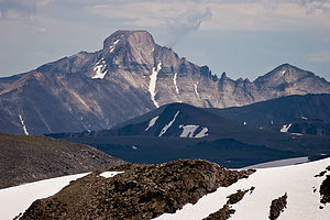 Longs Peak from Mt. Ida summit