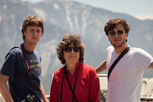 Lolo and Boys at Summit of Moro Rock