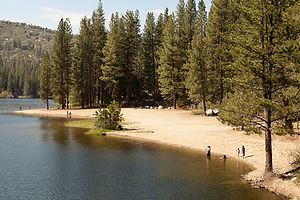 Hume Lake Beach