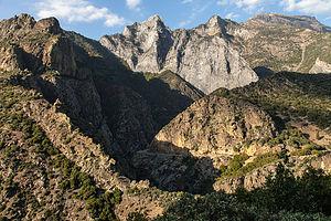 Kings Canyon Road Viewpoint