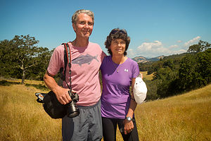 Lolo and Herb at Annadel State Park