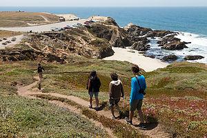 Bodega Bay Hike Descent