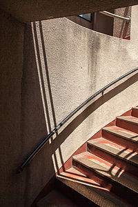 Coit Tower Stairwell