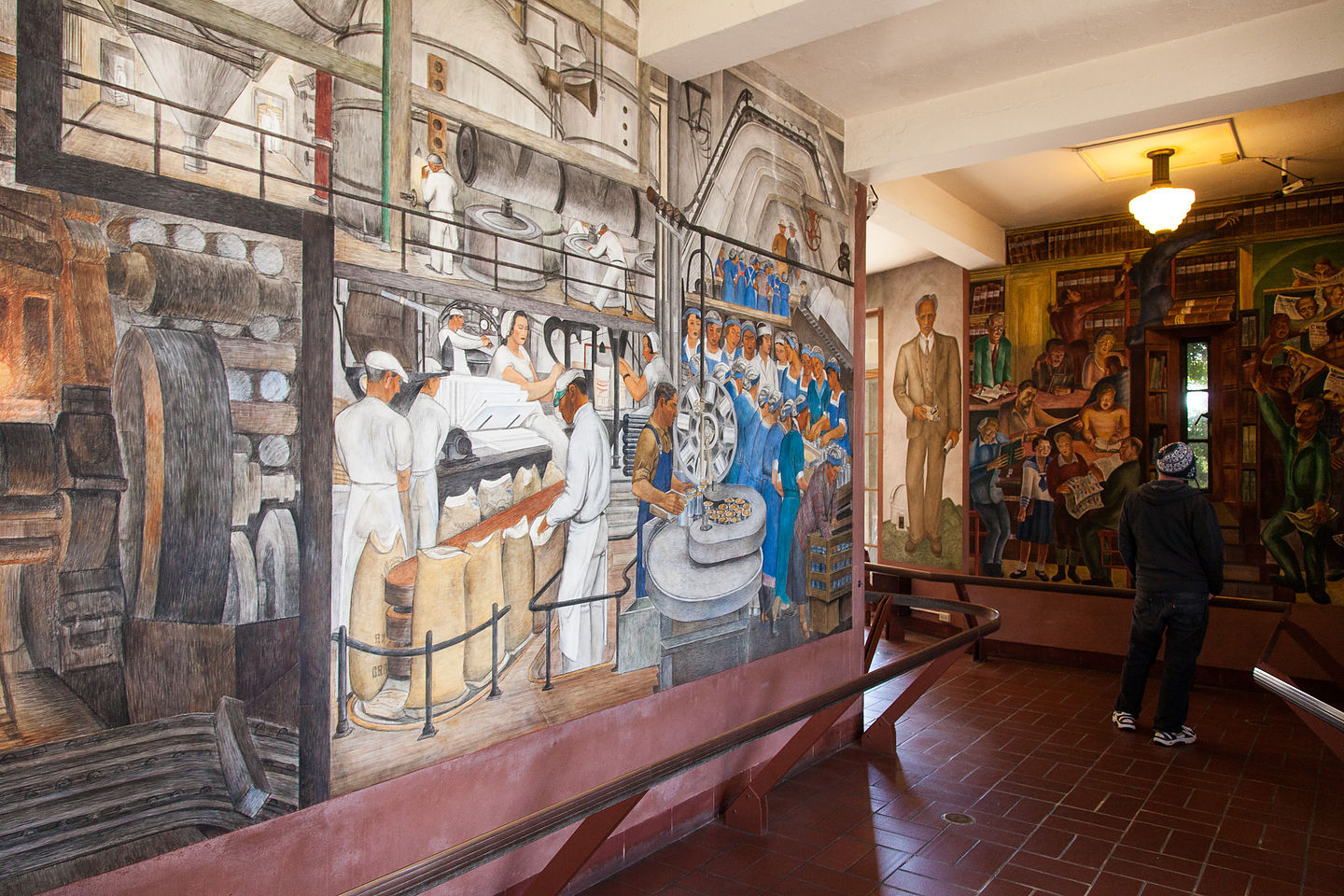 Coit Tower Public Works Murals
