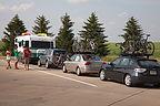 Caravan at Rest Stop