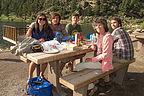 Picnicking at Lily Lake