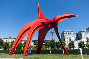 "Calder's ""Eagle"" at the Olympic Sculpture Park"