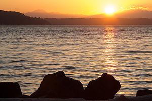 Saltwater State Park Sunset