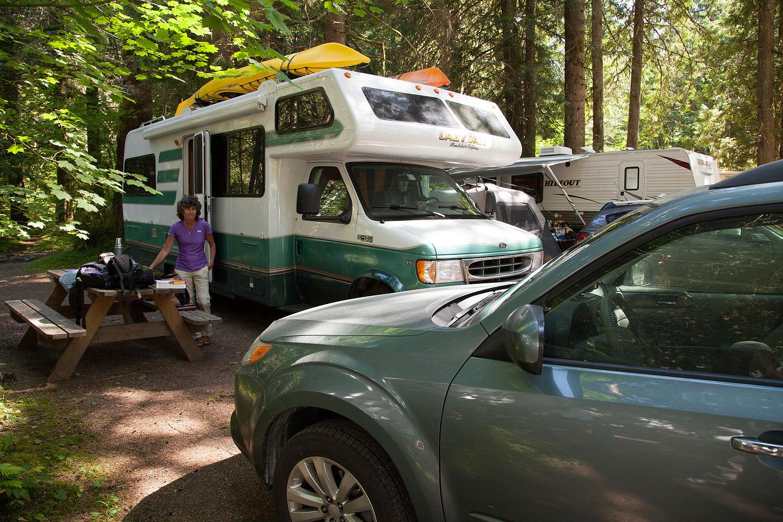 Camping at Mounthaven RV Resort