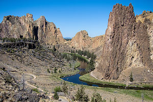Viewpoint approaching Smith Rock