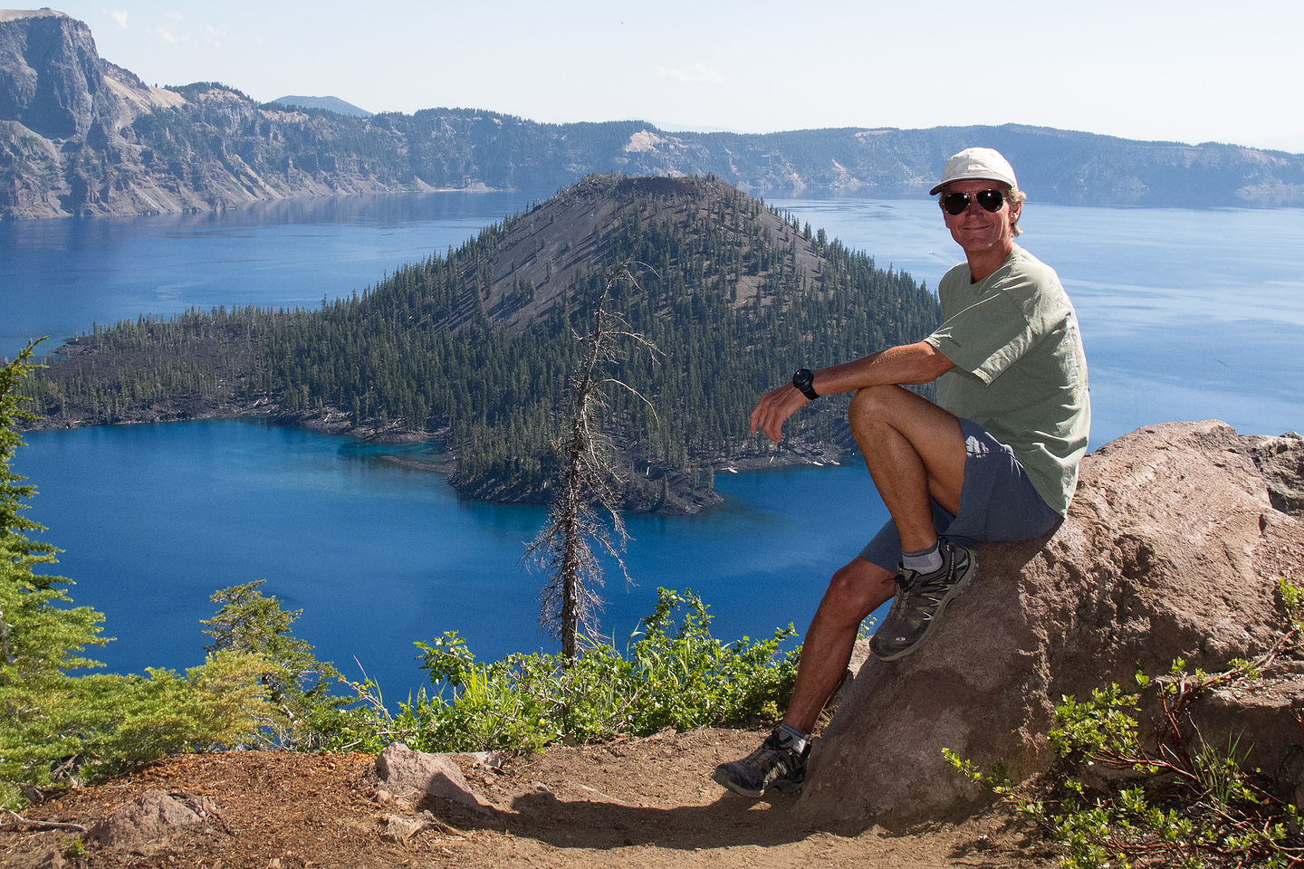 Herb at Crater Lake Overlook