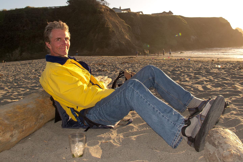 Herb at Caspar Beach