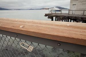 Fisherman's Wharf Love Lock