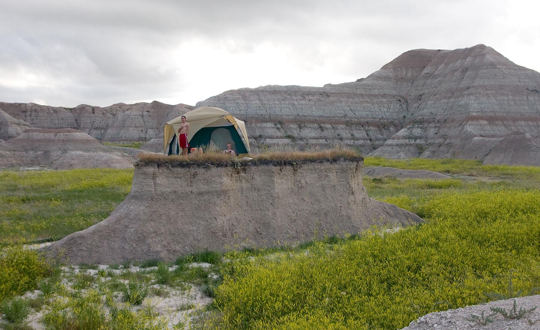 """Tent""ative Campsite"