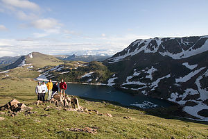 Group Picture on Beartooth Pass