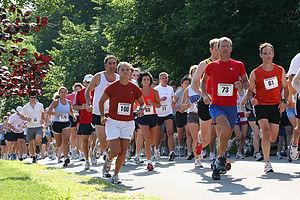 Murdick's Run the Chop 5 Mile Race Start