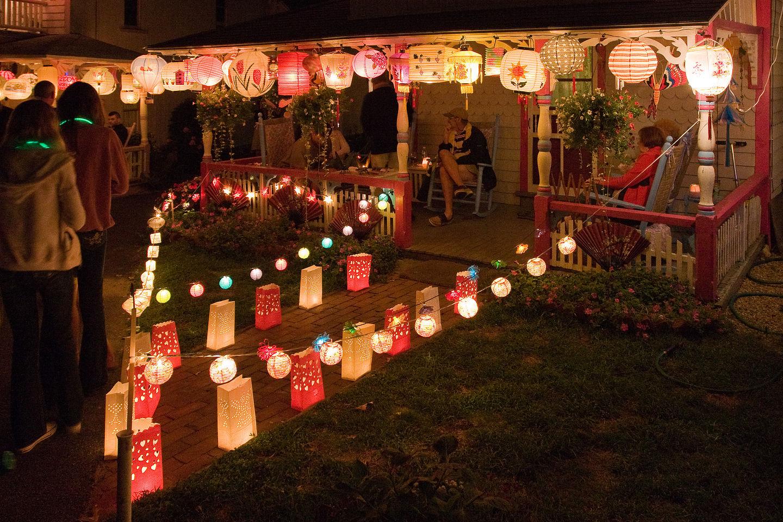 Cottage City Illumination Night