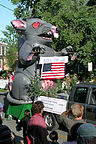 4th of July Inflatable Rat Float