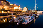 Edgartown Waterfront at Night