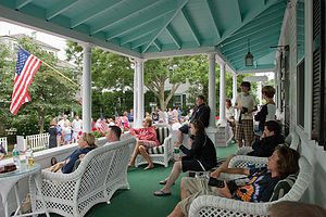4th of July on Edgartown Inn Porch