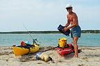 Herb loading Kayaks at Norton Point