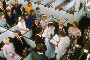 Lolo and Herb's Wedding at Federated Church