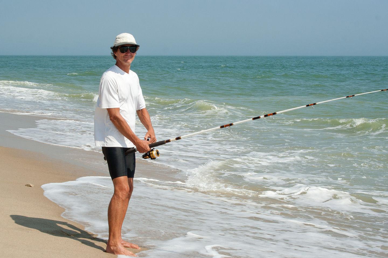 Herb Surf Fishing at Wasque - LEG