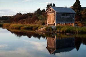 Nashaquitsa Pond Boathouse