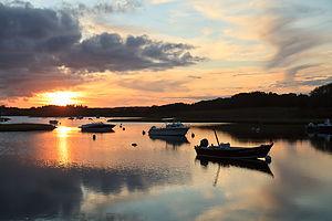 Nashaquitsa Pond Sunset