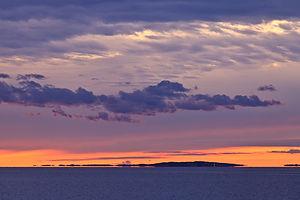 Lobsterville Beach Sunset