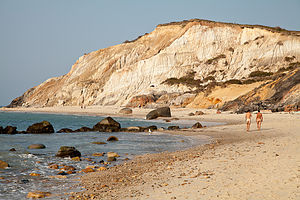 Moshup Beach View of Cliffs