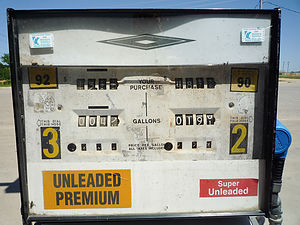 Local Gas Station Pump