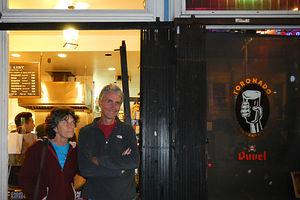 Lolo and Herb Dining at Toronado Pub