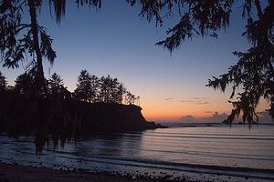 1st Night at Sunset Bay Beach