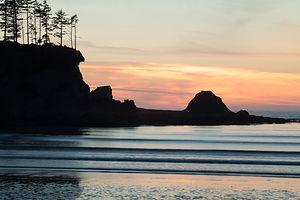 Sunset Bay Beach Afterglow
