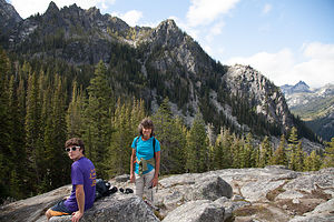 Viewpoint on Colchuk Lake Hike