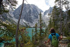 Final Approach to Colchuk Lake