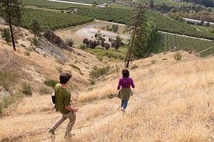 Hiking at Peshastin Pinnacles State Park
