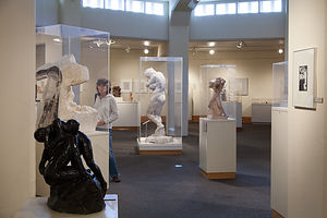 Room of Rodin Sculptures