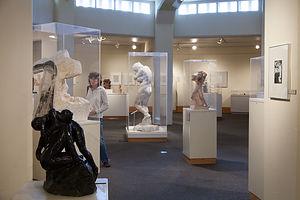 Room of Rodin Sculptures