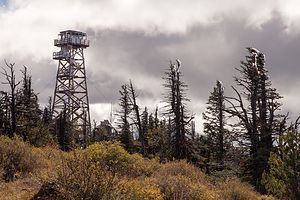Black Butte Lookout Tower
