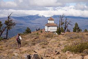 Black Butte Lookout Cabin